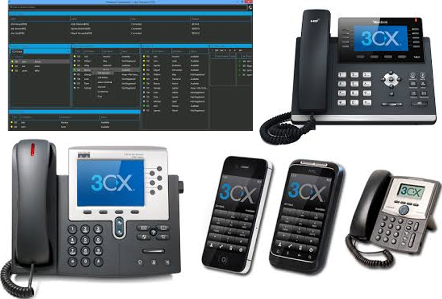 3CX VOIP PBX from 3CX Partner ICTGlobe Austria GmbH